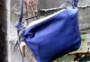 柔らか仕上げの牛革ショルダーバッグ (牛革)