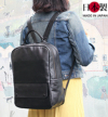 ba147-thu 豊富な収納力が魅力!レザーリュックサック(牛革/日本製)