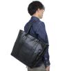 ba162-11 クラシカルな雰囲気のシンプルトートバッグ(牛革/日本製)