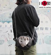ba181-thu 2wayショルダーバッグ(牛革/アザラシ/日本製)