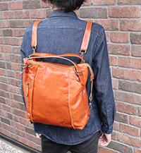 bag250-thu 3wayリュックサック (牛革)
