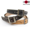 フリーカットカービング革ベルト(牛革)ベルト巾4.5cm