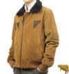 革フライトジャケットB−15(牛革スエード)