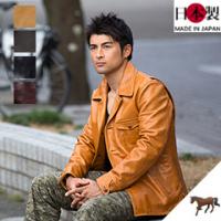 レザージャケット(馬革)アニリンホース日本製