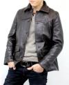 ゴートスキン30'Sカーコート(山羊革)レザージャケット