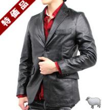 【特価品】2つボタンレザージャケット(ラム革)