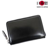 sa179-thu コードバンラウンドファスナーミニ財布(馬革/日本製)