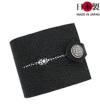 sa188-thu スティングレイ二つ折り財布 アローヘッドフラップ(エイ革/日本製)