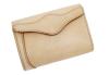 sa196-08 ミドルサイズの二つ折り財布(牛革/日本製)