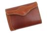 sa196-09 ミドルサイズの二つ折り財布(牛革/日本製)