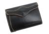 sa196-10 ミドルサイズの二つ折り財布(牛革/日本製)