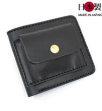 小銭の使用頻度が多い方に!外側小銭入れ革財布(牛革)