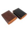 欲張りな方へ!沢山カードが入る二つ折り財布(牛革)