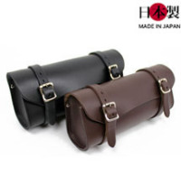 シンプル革ツールバッグ ロング(牛革)